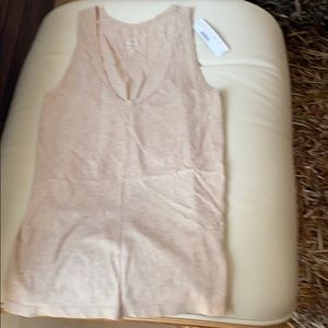 J Crew vintage cotton new with tags tank top